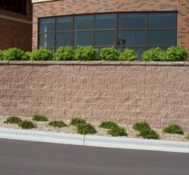 Retaining Walls and Plantings</br> Lawncare and Landscaping