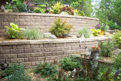 AJ's Lawncare and Landscaping Rocks Planting Image