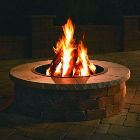 AJ Landscape Outdoor Fire Ring Image